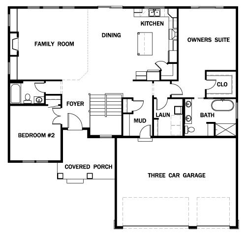 Floor Plan: The Cove