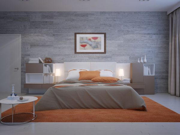 Create an Accent Wall in Your Primary Bedroom